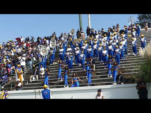 FVSU Blue Machine Marching Band Lets Go Fountain City Classic 2017