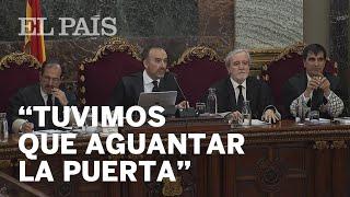 """JUICIO DEL PROCÉS: """"Aguantamos la puerta de la Consejería para que la masa no la derribara"""""""