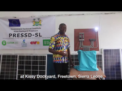 Small DC Solar PV System - Government Technical Institute, Freetown