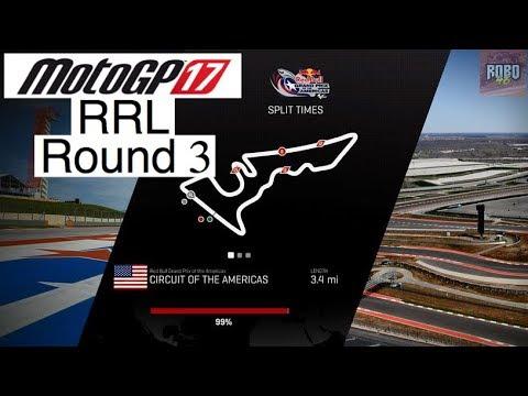 MotoGP 17 | League Racing (RRL) Round 3: COTA