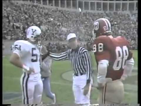 1984 Yale vs Harvard Football