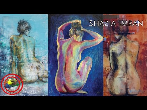 Fine art show with  Shazia Imran on Colour In Your Life featureing her mixed media techniques