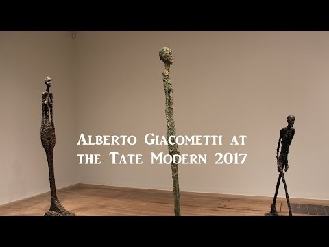 Exhibition Review : Alberto Giacometti at the Tate Modern – 10th May to 10th September 2017