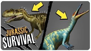 NEW UPDATE 1.0.5: GIANT DINO BOSS HUNT EVENT! - Jurassic Survival Gameplay Android