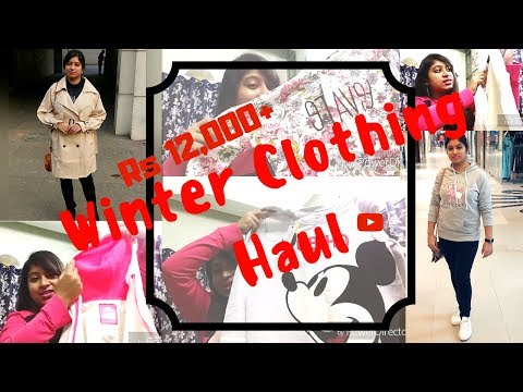 Huge WINTER CLOTHING Haul from RELIANCE TRENDS, MAX, FBB, LULU AND SKY etc.