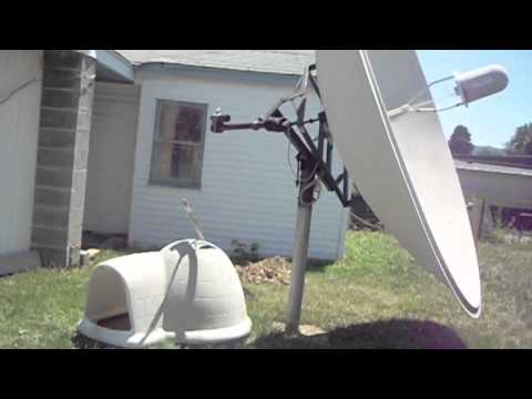 How Not To Remove An Old Satellite Dish