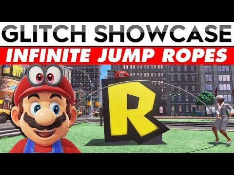 NEW INFINITE JUMP ROPE GLITCH | Mario Odyssey Glitch Showcase