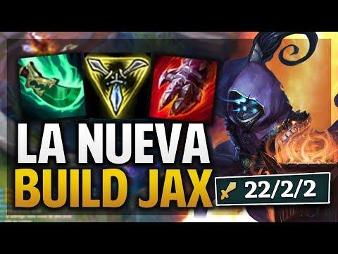 ¡LA NUEVA BUILD DE JAX! HASTA CON AFK STOMPEA! | League of Legends thumbnail