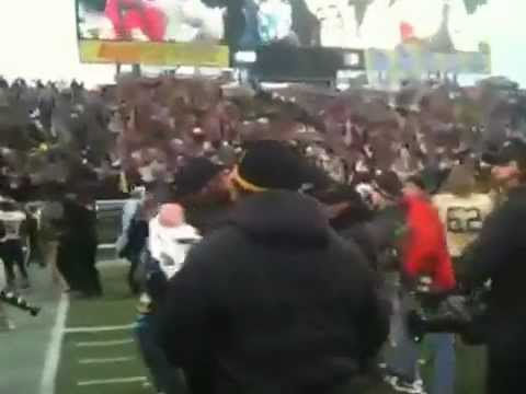 Vanderbilt coach and players celebrate 2012 Music City Bowl with fight song clip 1 of 3