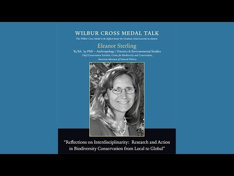 Wilbur Cross Medal Lecture - Eleanor Sterling