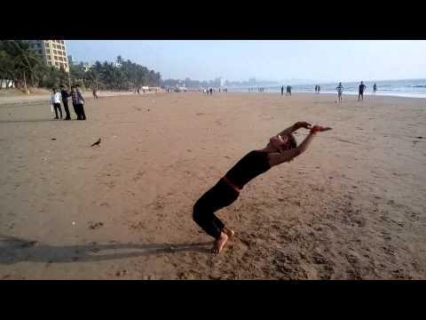 World Record Gymnastics 35 back handspring Ali Akbar Lalji Ansari