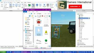 COMMENT CRÉER VOTRE OWN ROBLOX TOY (EXTRA UPLOAD Roblox Studio - Microsoft 3D Builder)