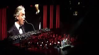 Andrea Bocelli & Larisa Martinez - Libiamo Ne'lieti Calici - New York - 12/13/17