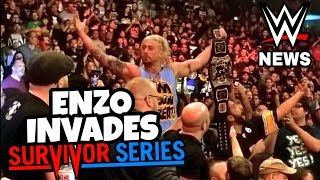 ENZO AMORE KICKED OUT OF WWE SURVIVOR SERIES 2018!! WWE NEWS