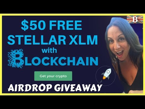 How to earn $50 FREE Stellar Lumens XLM with Blockchain.com