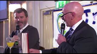 Roy Keane describes his first red card