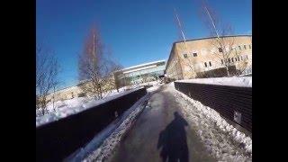 Університет в Умео. Umeå University. Зняв більше, але потім карта накрилася...