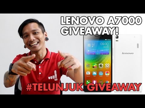TELUNJUK LENOVO A7000 GIVEAWAY INDONESIA!