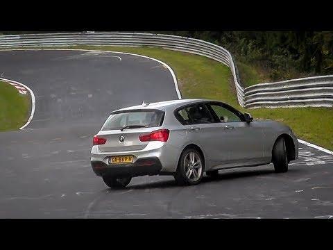 Nordschleife Touristenfahrten - 17 09 2017 Highlights, CRASH, Slides & Action! - Nürburgring