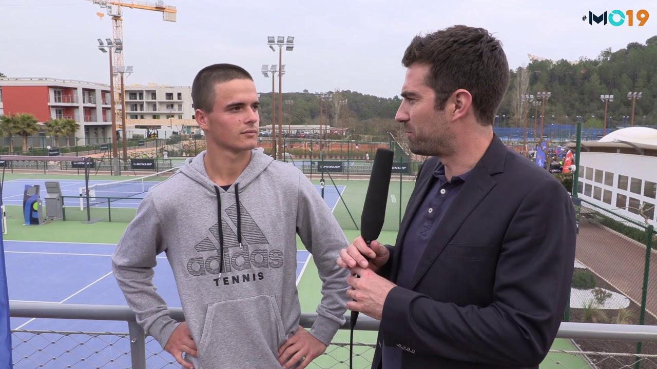 Mouratoglou Open 2019 Interview Petros Tsitsipas Youtube