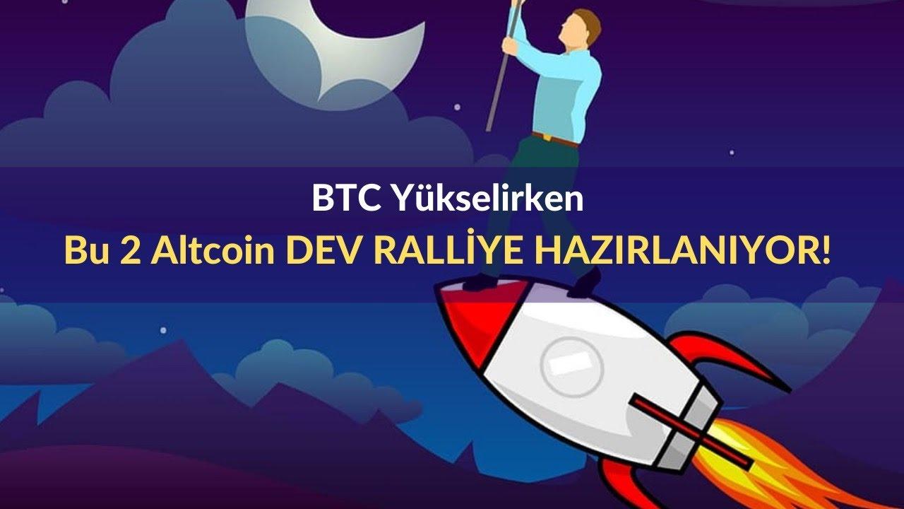 Bitcoin (BTC) Yükselirken, Bu 2 Altcoin Dev Ralliye Hazırlanıyor!