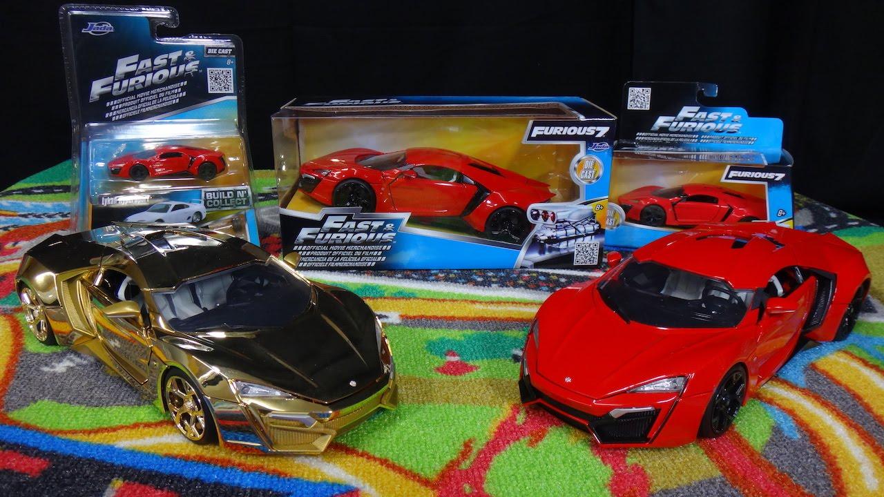 W Motors Lykan HyperSport - Fast & Furious 7 - Jada Toys ...