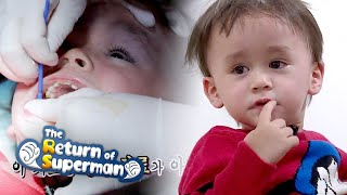 Bentley's Treatment Begins First! [The Return of Superman Ep 316]