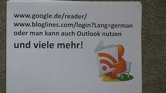 Was ist RSS Feed