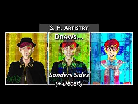 Drawing Deceit Sanders (Thomas Sanders)