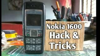 Nokia 1600 Hacks & Tricks - Unlock Nokia 1600 if You forget the Password !