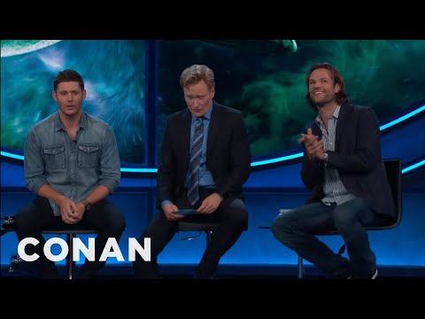 Jensen Ackles Would Take A Bullet For Jared Padalecki   CONAN on TBS