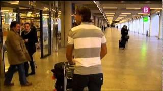 Rafa Nadal regresa a Mallorca ilusionado por el inicio de la temporada