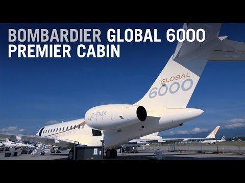 bombardier global 6000 premier cabin business jet design tour ndash aintv