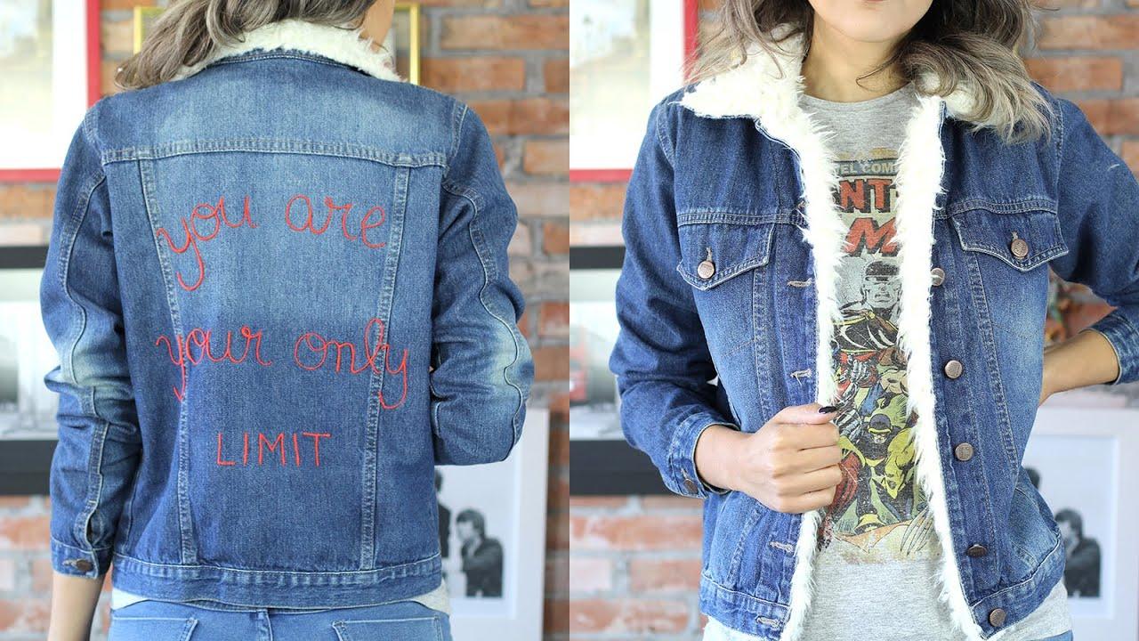 DIY: Jaqueta com pele e estampa!