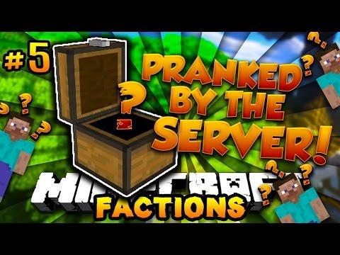 "Minecraft COSMIC FACTIONS ""PRANKED BY THE SERVER!"" #5 w/PrestonPlayz (Season 6)"