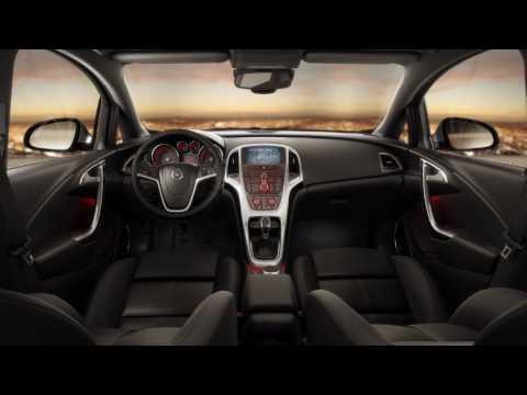 New Opel Astra J - Interior design - YouTube