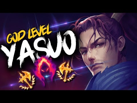 GOD LEVEL YASUO MONTAGE | League of Legends thumbnail