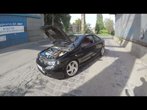 Opel Astra Bertone Coupe 2.0 Turbo 🚙 Bemutató