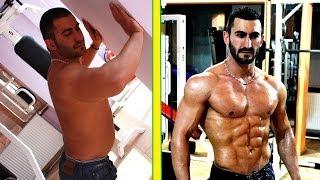 değişim - yunus bıçaklı - before after - vücut geliştirme - fitness ısparta transformation