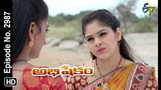 Abhishekam | 13th August 2018 | Full Episode No 2987 | ETV Telugu