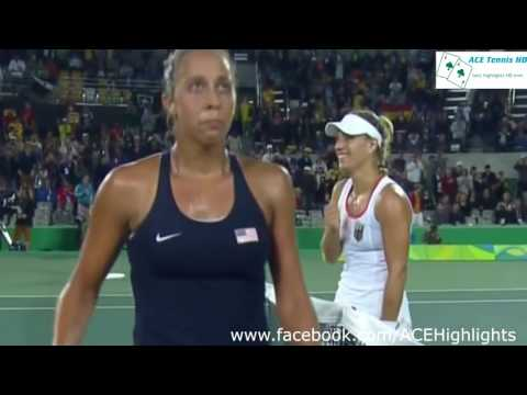 Angelique Kerber vs Monica Puig 2016 Rio Summer FINAL Highlights HD720p50 by ACE