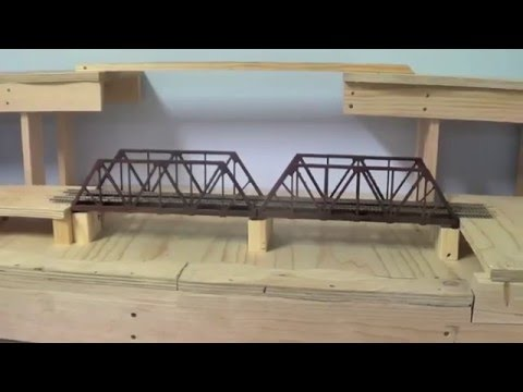 "Bridges on the layout "" Model Trains"""