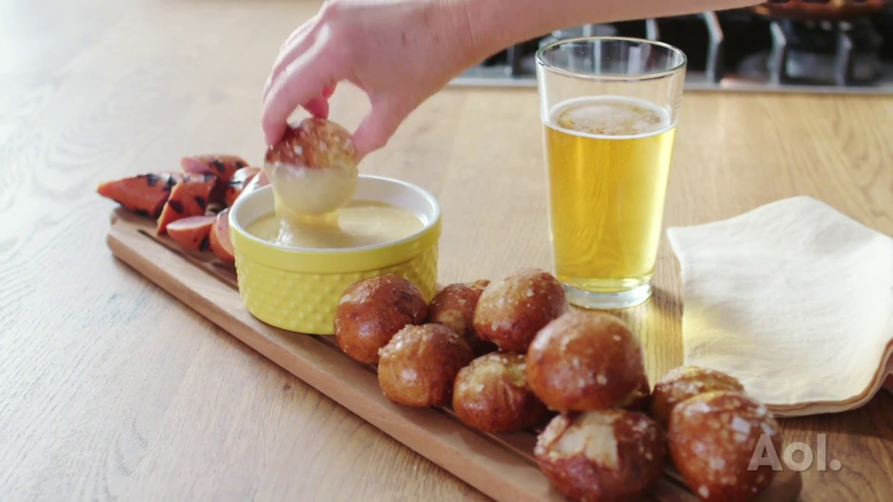 how to make pretzel bites without yeast