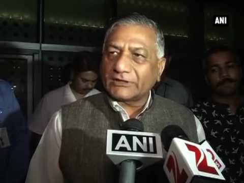 No food crisis for Indian workers in Saudi Arabia camps: VK Singh - ANI News