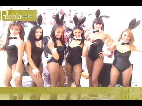 Conejitas de Playboy México en Puebla