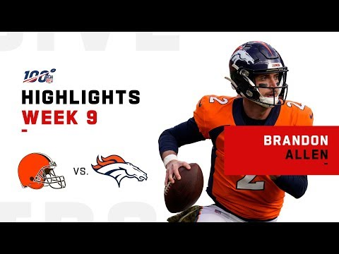 Every Brandon Allen Snap in 1st Career Start | NFL 2019 Highlights