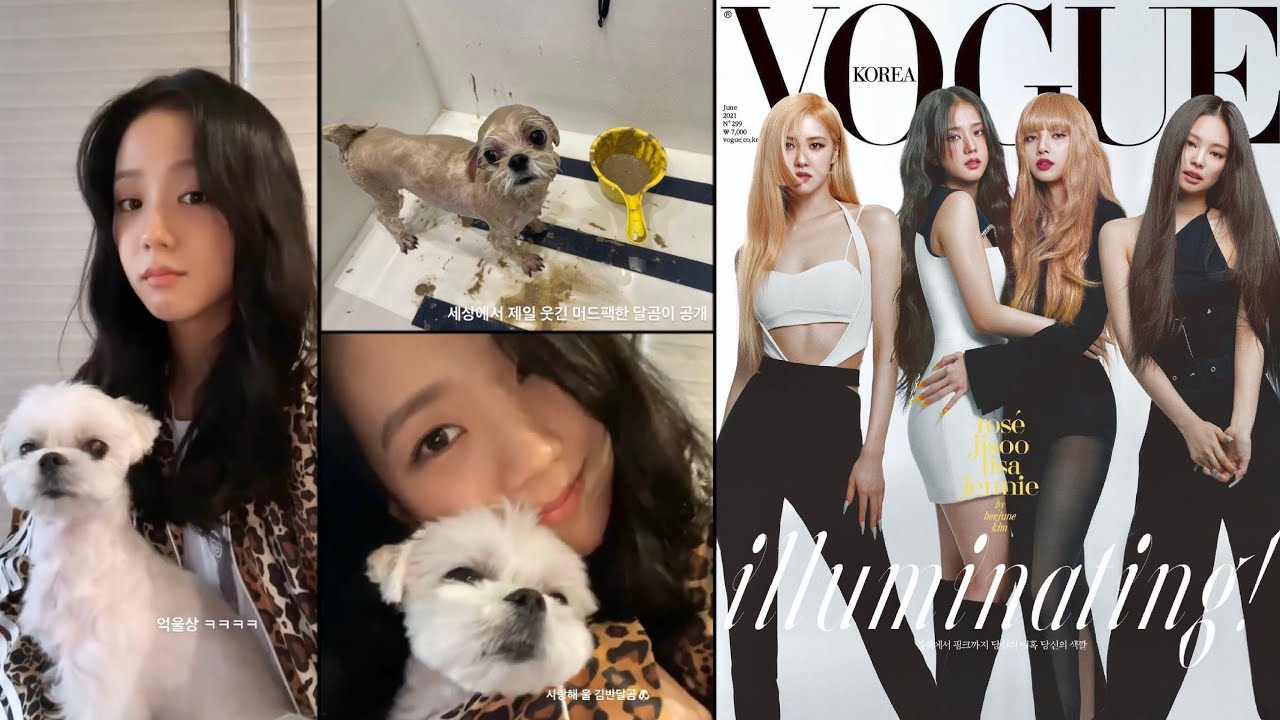 Jisoo and Dalgom 🐾, Blackpink x Vogue