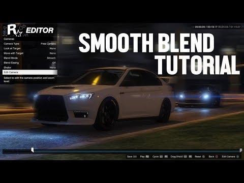 ROCKSTAR EDITOR - HOW TO DO SMOOTH BLEND