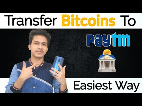 How To Transfer Bitcoins To Paytm And Bank Account From Coinbase - SIMPLEST METHOD