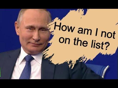 Deep State fail: Putin laughs off 'Kremlin List'